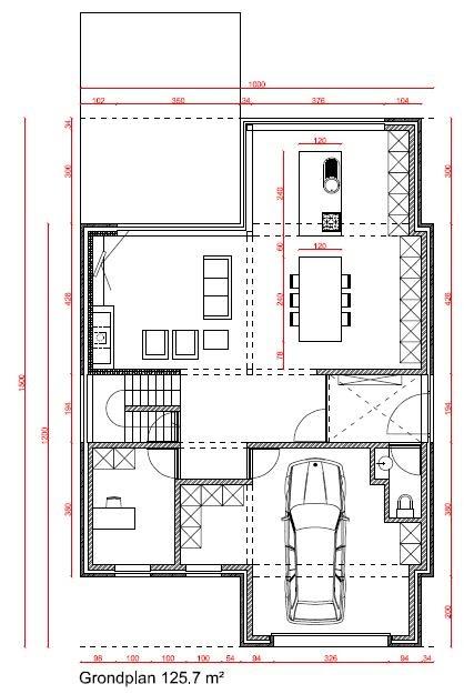 Ons bouwavontuur plan en 3d tekening for Grondplan badkamer