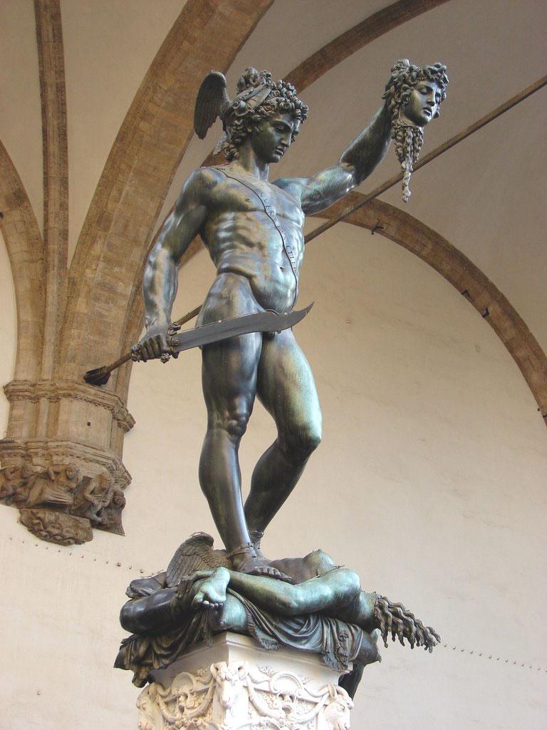 Perseo de Cellini - Tesoro de Florencia