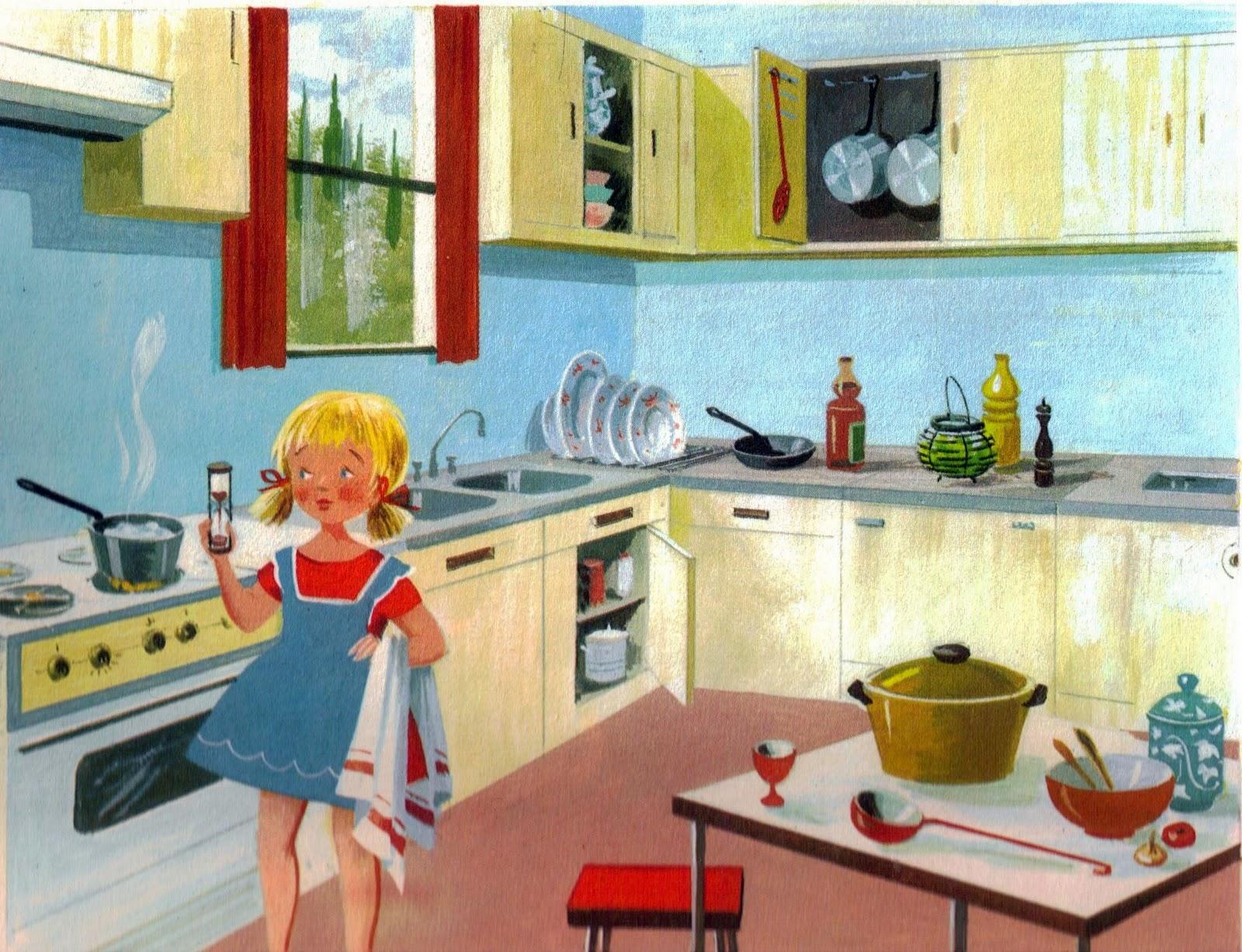 Mondorama 2000 a la cuisine fanny devant la cuisini re for Cuisine 2000