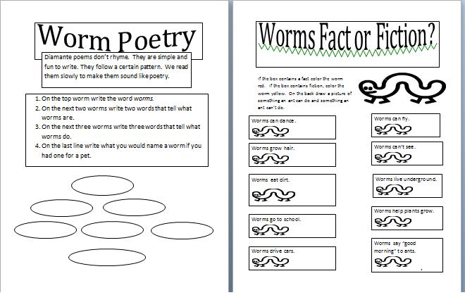 pin printable worm worksheets welcome on pinterest. Black Bedroom Furniture Sets. Home Design Ideas