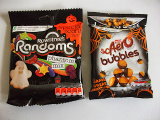 halloween themed sweets from nestle rowntree