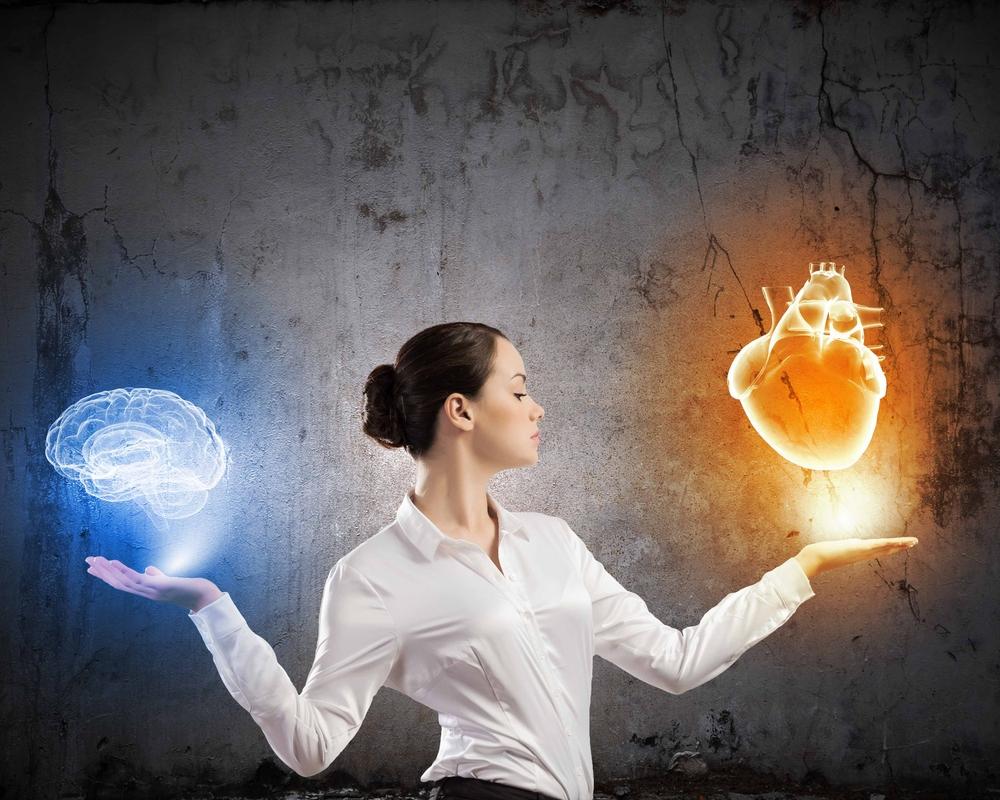 head vs heart - Comienza a utilizar tu intuición.