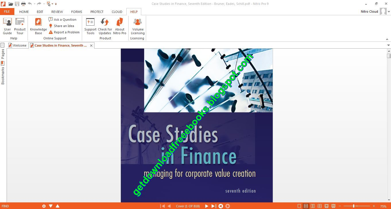 case study in finance bruner Case studies in finance bruner solutions - if you are striving to find out how to write a top-notch dissertation, you are to study this get started with dissertation writing and write finest college research paper ever commit your essay to.
