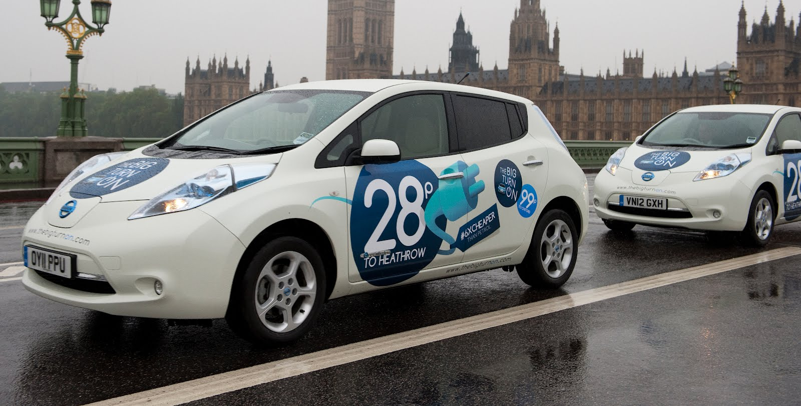 Nissan Offering Free LEAF Taxi Rides In London
