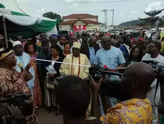 Ayo Fayose Commissions A Road Named After Him In Ekiti (see the photos)
