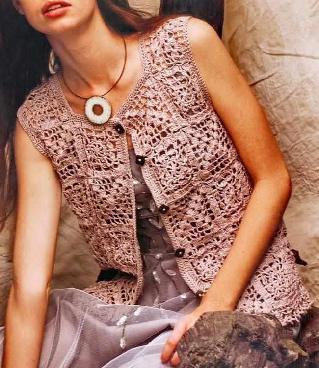 Free Crochet Pattern Ladies Vest : Crinochet: All about Crochet Vests