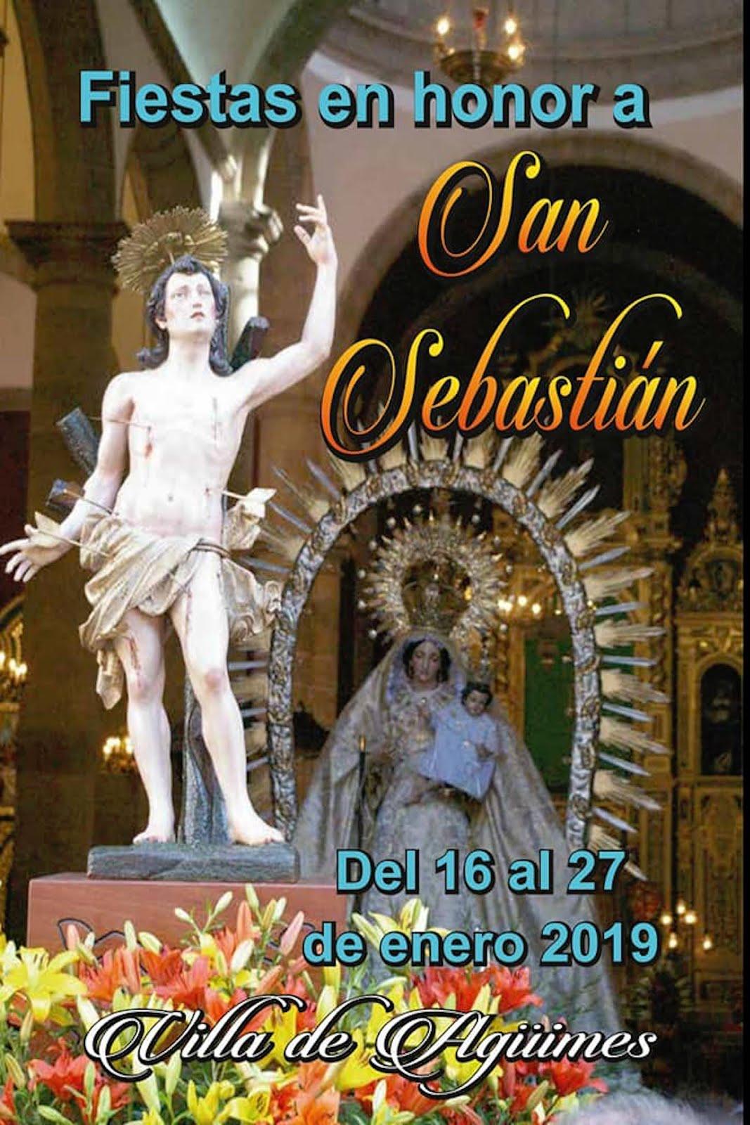 Fiestas en honor a San Sebastián 2019
