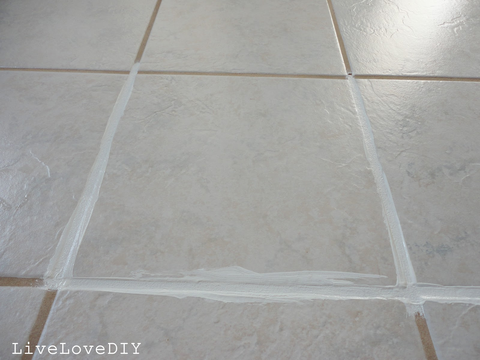 LiveLoveDIY How To Restore Dirty Tile Grout - Best method to clean tile grout