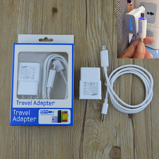 5V 2A LED Travel Wall Charger Micro USB Cable for Samsung Galaxy S4 S3 S2 Note 2