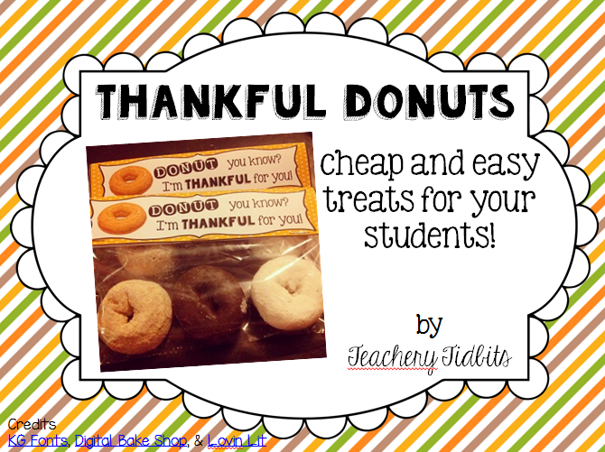 http://www.teacherspayteachers.com/Product/Thankful-Donuts-Gift-Tag-1570794
