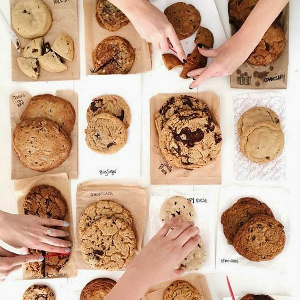 Studio DIY // Los Angeles Chocolate Chip Cookie Research