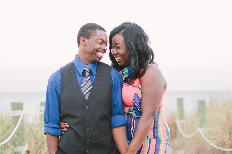 delray atlantic dunes engagement photo