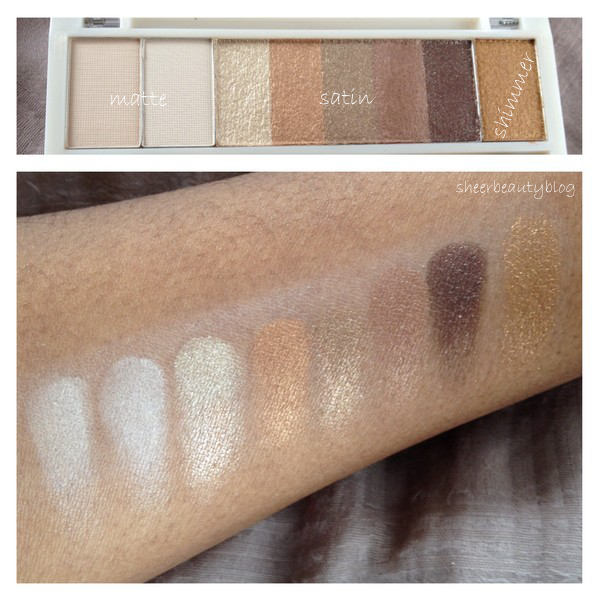 picture of kardashian beauty touch tone palette swatches