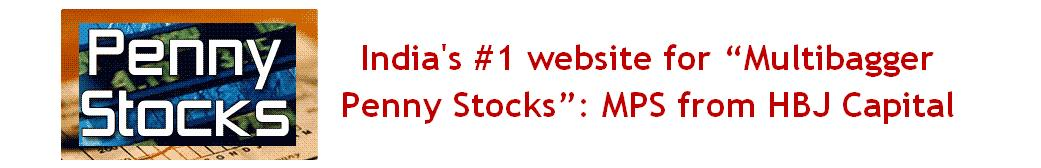 """India's  #1  website  for  Multibagger  Penny  Stocks"" :  MPS"