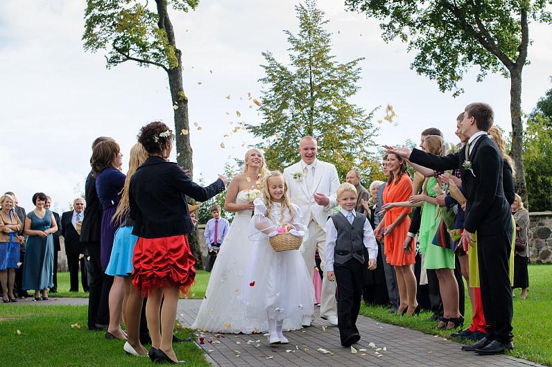 žiedlapiai per vestuves