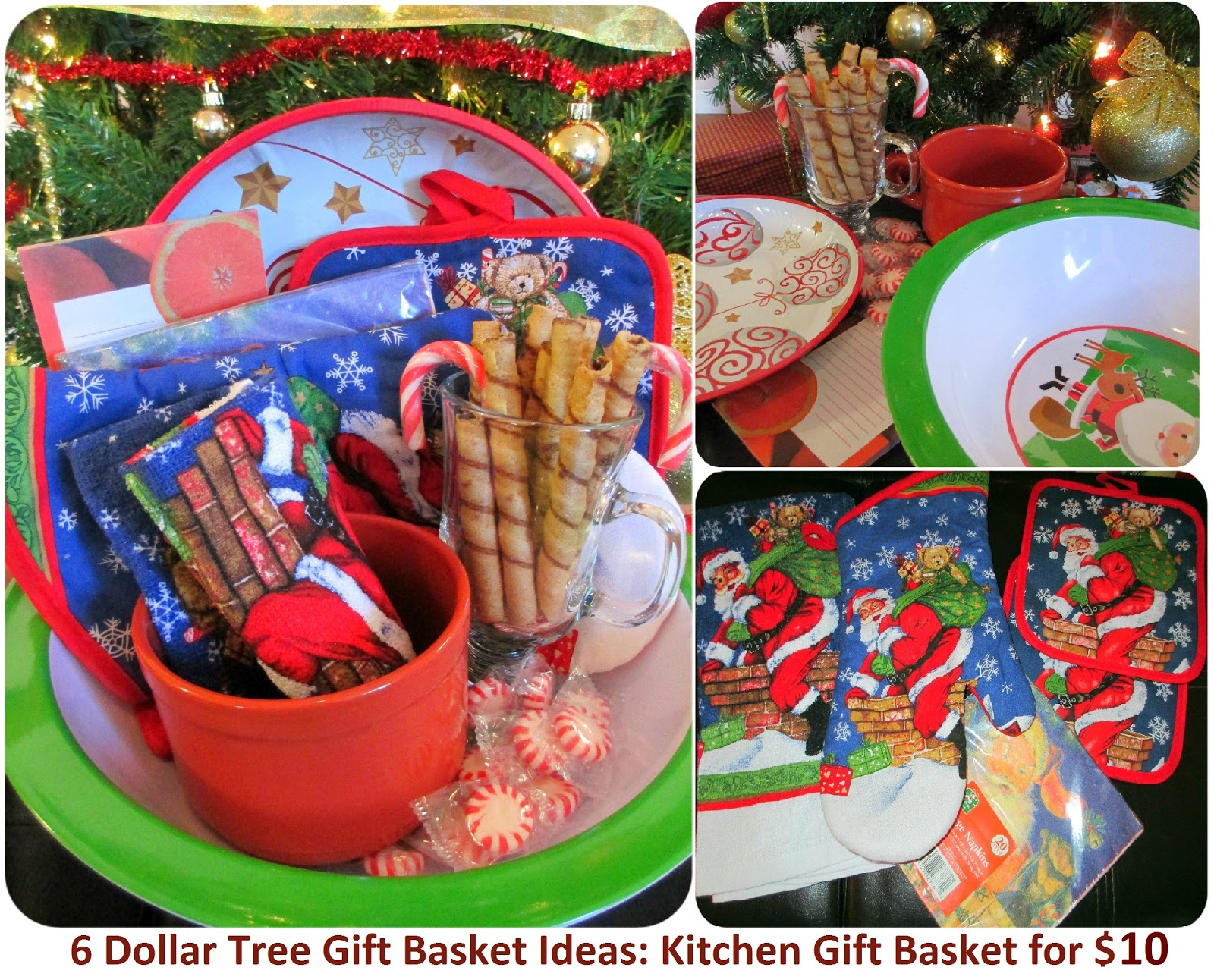 Maria sself chekmarev dollar store last minute christmas for Homemade christmas gift baskets for couples