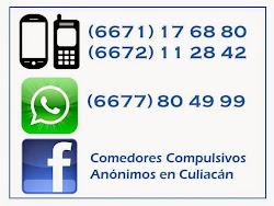 Comedores Compulsivos Anónimos en Culiacán