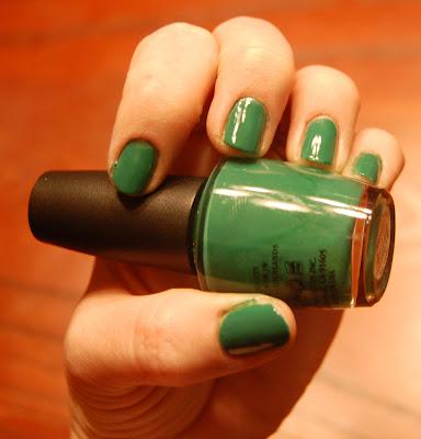 OPI, OPI nail polish, OPI nail lacquer, OPI mani, OPI manicure, OPI Jade Is The New Black, nail, nails, nail polish, polish, lacquer, nail lacquer, mani, manicure