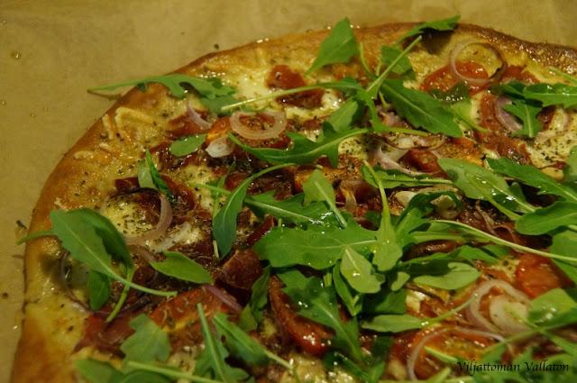 gluteeniton pizza Kauniainen