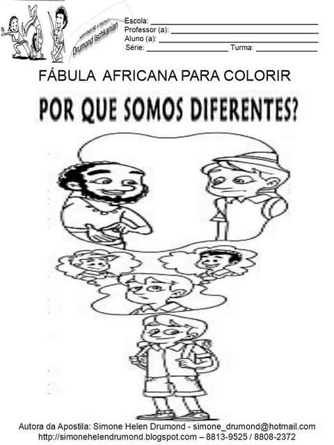 Para Colorir Consciencia Negra
