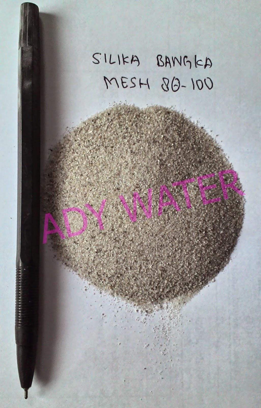 Pasir Silika Bangka Mesh 80-100