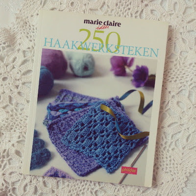 ByHaafner, crochet book, doily, Marie Claire Idées, thrifted