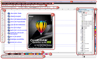 Entorno de Corel DRAW X6