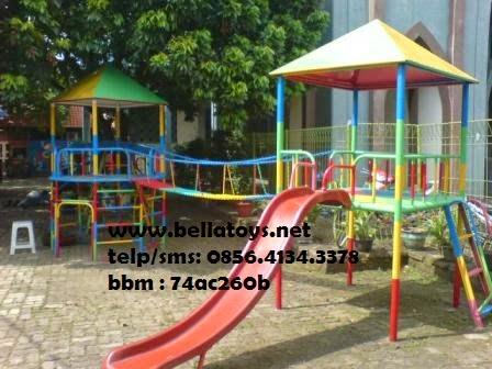 playground model 3 rumah besar