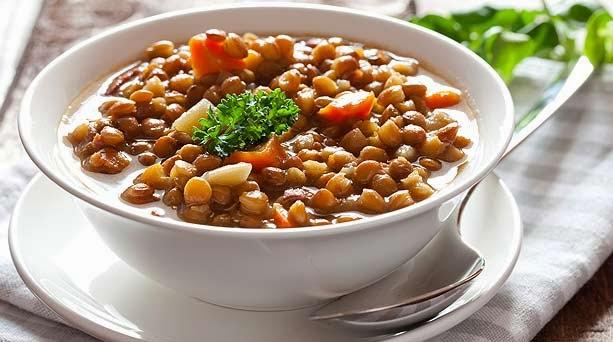 Constancia alimentos artesanales tocino y lentejas for Formas de cocinar lentejas