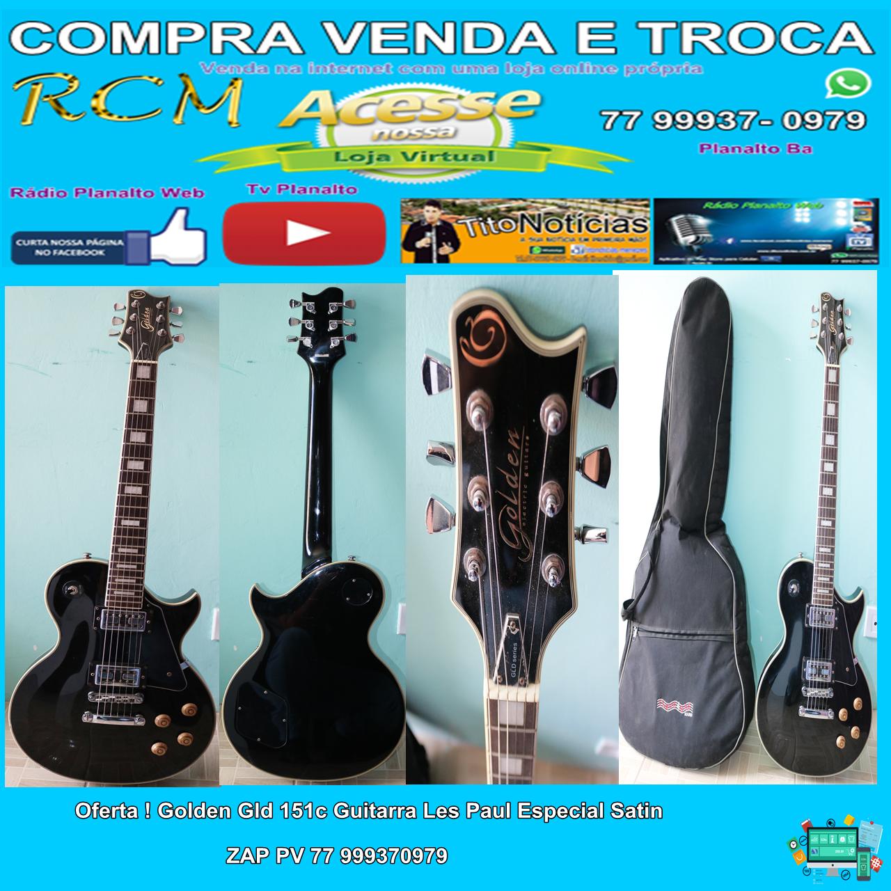 Vendo Guitarra Semi Nova,  por um ótimo preço!  Mais informações