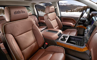 2014 Chevrolet Silverado High Country Interiors