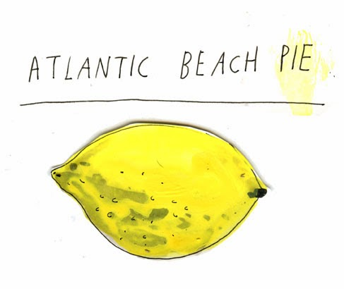 Atlantic Beach Pie Illustration by Elizabeth Graeber