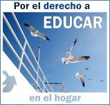 Manifestación de blogs por el derecho a educar en el hogar