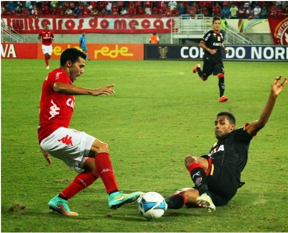 Rubro Negro baiano vence o America RN na Arena das Dunas.