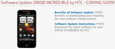 Droid Incredible Gets Gingerbread Update