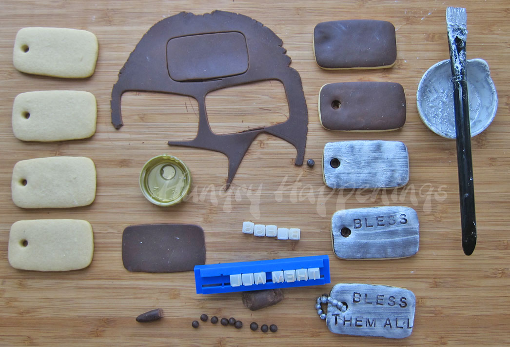 how to make round thin chocolate using cookie cutter
