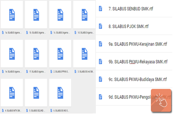 Download Silabus Mata Pelajaran Wajib A, B, dan Peminatan C1 SMK