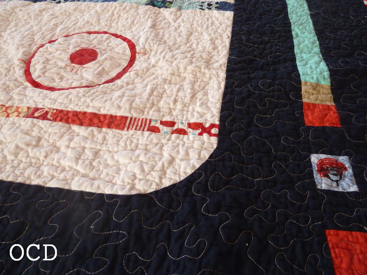 ocd: obsessive crafting disorder: Hockey Quilt Pattern is here!!! : hockey quilt patterns - Adamdwight.com