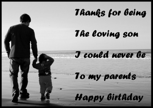 dad birthday quotes from son - photo #1