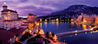 Broadmoor Hotel, Colorado Springs, Christmas holiday