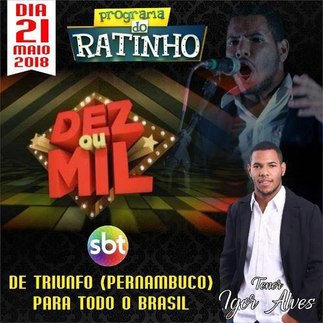 Igor Alves, orgulho triunfense