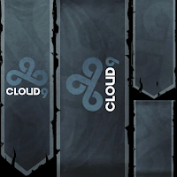 CLOUD 9 (C9) time banners dos times lcs na no lol summoners rift