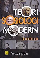 toko buku rahma: buku TEORI SOSIOLOGI MODERN Ed.7   , pengarang george ritzer, penerbit kencana