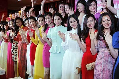 40 thí sinh vào Chung khảo phía Nam Hoa hậu Việt Nam 2014