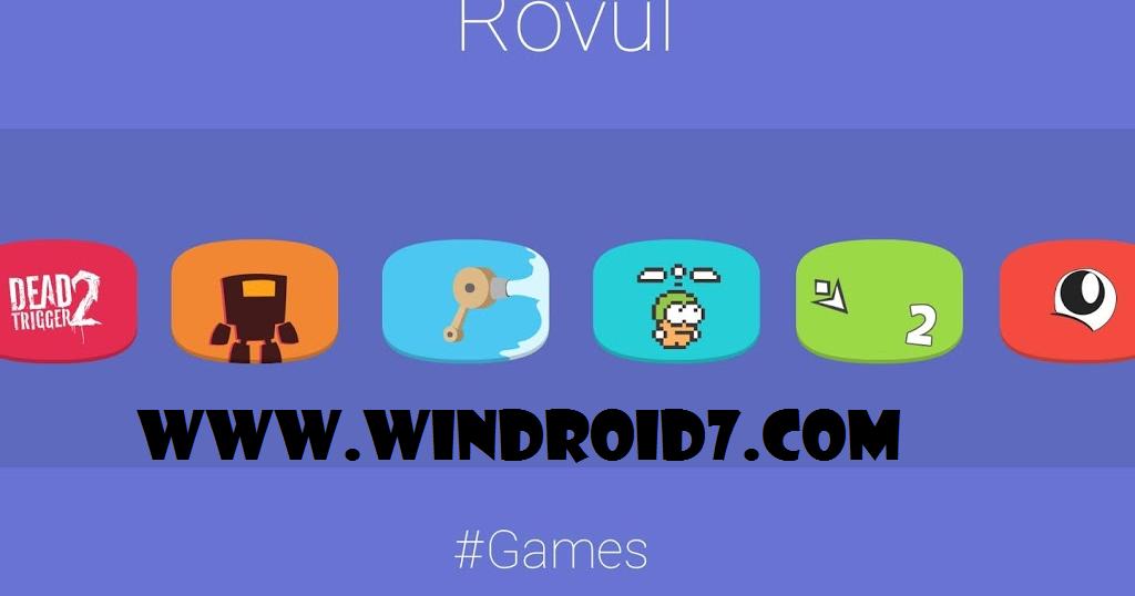 Rovul Icon Pack v1.0.1 Apk | Juegos y aplicaciones para android