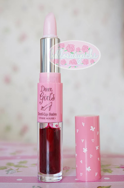 Sasyachi Beauty Diary: ETUDE HOUSE - DEAR GIRLS TINT LIP