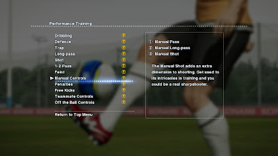PES 2013: Performance Training