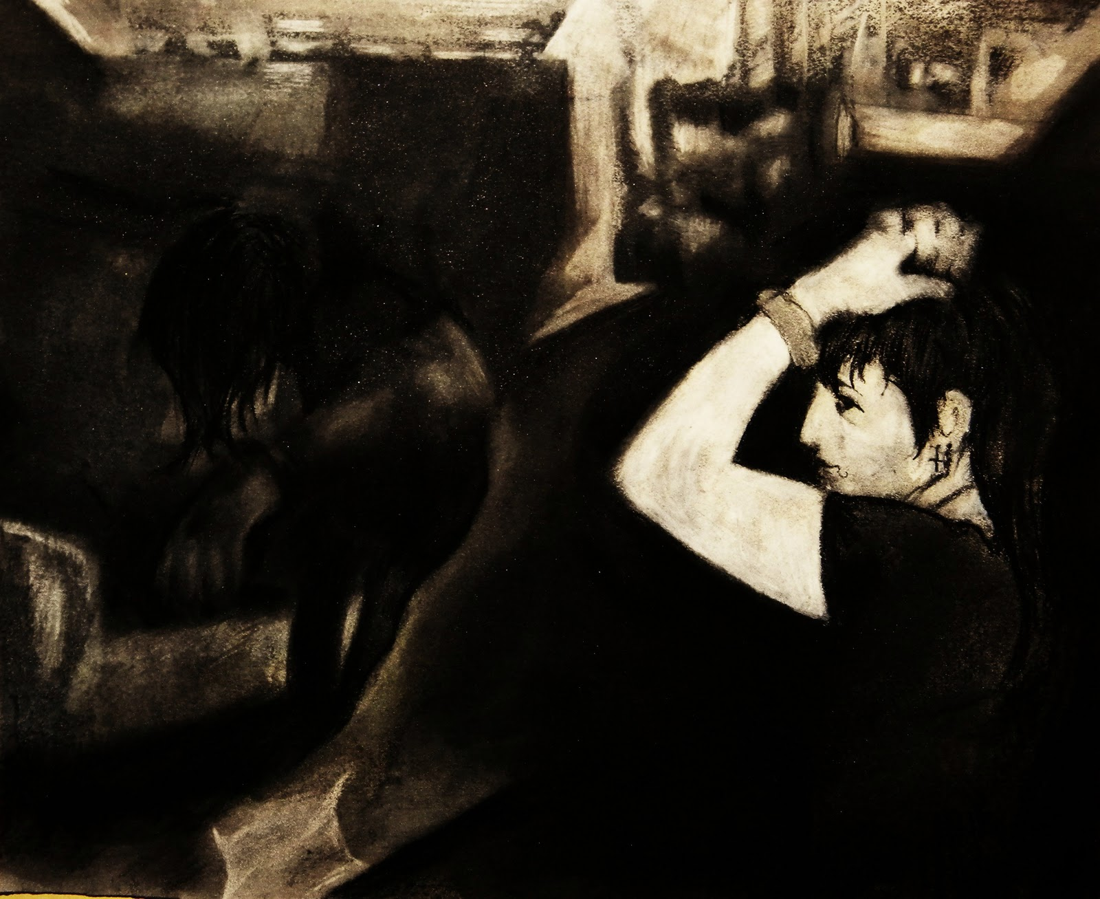 Art by Adam Paladino: ADAM PALADINO- works on paper