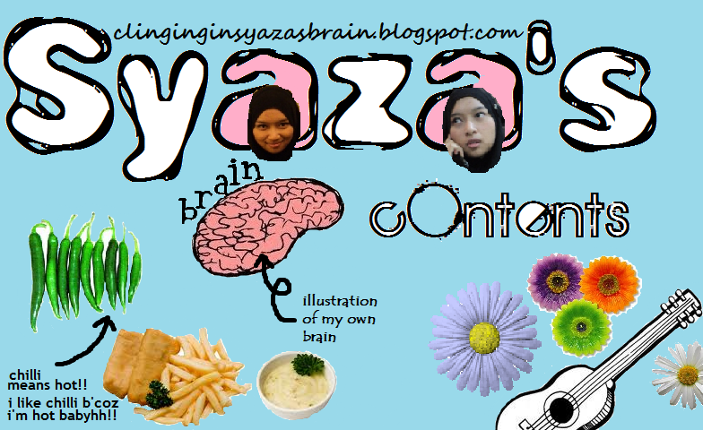Syaza's brain contents