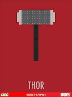 superheros lego thor